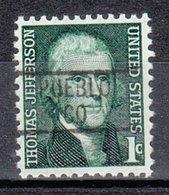 USA Precancel Vorausentwertung Preo, Locals Colorado, Pueblo 839 - Vereinigte Staaten