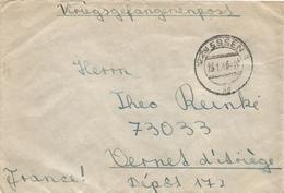 Afrikakorps 1948 Feldpost 01694C Stab III Und 9.-12. KompaniePanzergrenadier-Regiment 104 POW Vernet France - Allemagne