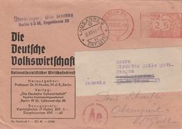 Allemagne EMA Berlin Sur Lettre Censurée Pour La Suisse 1941 - Allemagne