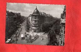F1502 - PARIS - Carrefour Richelieu Drouot - Boulevard Des Italiens Et Haussmann - Andere