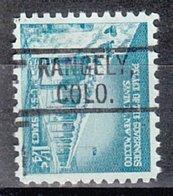 USA Precancel Vorausentwertung Preo, Locals Colorado, Rangely 802 - Vereinigte Staaten