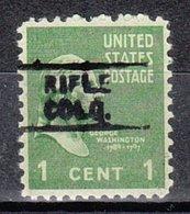 USA Precancel Vorausentwertung Preo, Locals Colorado, Rifle 729 - Vereinigte Staaten