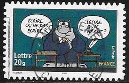 TIMBRE ADHESIF N° 65  -  ENTRE NOUS CA COLLE -  OBLITERE  -  2005 - Adhésifs (autocollants)