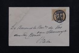 PAYS BAS - Enveloppe Pour Un Baron Et Baronne à Breda En 1903 - L 23039 - 1891-1948 (Wilhelmine)