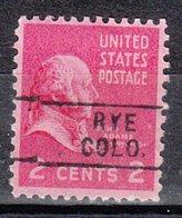 USA Precancel Vorausentwertung Preo, Locals Colorado, Rye 745 - Vereinigte Staaten