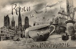 ROUEN  LE DE LA NORMANDIE - Rouen