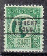 USA Precancel Vorausentwertung Preo, Locals Colorado, Seibert 743 - Vereinigte Staaten
