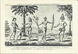 CARTE POSTALE PORTEFEUILLE - GUYANE - Indiens De La Guianne Environs De L'Orénoque - N° 355 - G. DELABERGERIE ? - Guyane