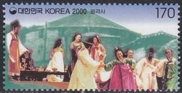South Korea KPCC1609 Millennium, Wongaksa Theater, Performers, Millénaire - Cultures