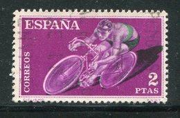 ESPAGNE- Y&T N°993- Oblitéré (cyclisme) - Cyclisme
