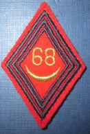 Losange Mod.1945- 68° R.A - Ecussons Tissu