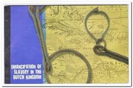 Curacao 2013, Postfris MNH, Prestigebooklet Slavery In The Dutch Kingdom - Curacao, Netherlands Antilles, Aruba