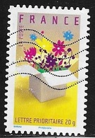 TIMBRE ADHESIF N° 131   -   INVITATION  -  OBLITERE  -  2007 - Adhésifs (autocollants)