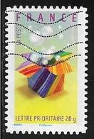 TIMBRE ADHESIF N° 132   -   INVITATION  -  OBLITERE  -  2007 - Adhésifs (autocollants)