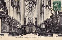 80 - AMIENS - Cathédrale - Les Stalles Du Choeur - - Amiens