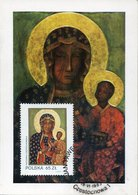 42711 Poland, Maximum 1983 Icon Of The Black Madonna And Child  Of Czestochowa, - Tarjetas Máxima