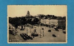 BRUXELLES,BRUSSEL TRAMWAYS,VIEILLES AUTOS,PORTE DE NAMUR - Tramways