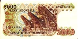 INDONESIA P. 120a 5000 R 1980 VF - Indonésie