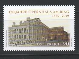 """Österreich 2019: """"150 Jahre Oper Am Ring"""" Postfrisch - 1945-.... 2. Republik"""