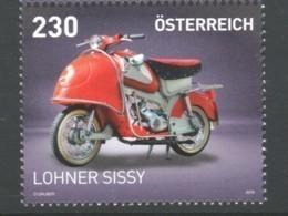 """Österreich 2019: """"Motorrad Lohner Sissy"""" Postfrisch - 2011-... Nuovi & Linguelle"""