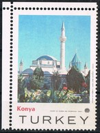 Viñeta, Label Cinderella TURKEY (Konya). Ministry Of Tourism. Turistica - 1921-... República