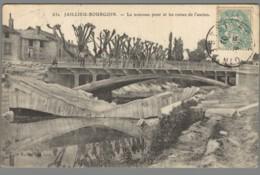 CPA 38 - Jaillieu Bourgoin - Le Nouveau Pont Et Les Ruines De L'ancien - Bourgoin