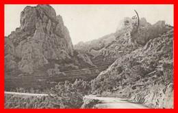 06 CORNICHE DE L'ESTEREL ALPES MARITIMES PIE SAINT BARTHELEMY ROUTE MONTAGNE PAYSAGE LA COTE D'AZUR CARTE ANCIENNE 1915 - Autres Communes