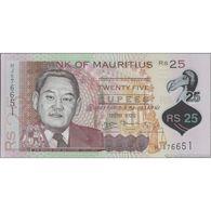TWN - MAURITIUS 64 - 25 Rupees 2013 Polymer - Prefix HJ UNC - Mauritius
