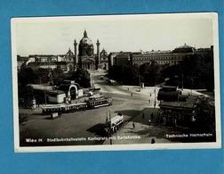 WIEN,VIENNE,TRAMWAYS, BUS, AUTOBUS - Tramways