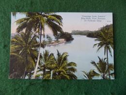 CARIBBEAN: JAMAICA Port Antonio Blue Hole Tint Duperly - Jamaïque