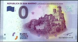 Zero - BILLET EURO O Souvenir - REPUBBLICA DI SAN MARINO 2017-6set UNC {Italy} - EURO