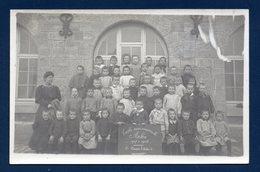 Arlon. Carte-photo. Ecole Communale De Garçons. 1ère Année D'études B. 1907-1908. Photo E. Gavroy , Habay La Neuve - Arlon