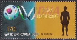 South Korea KPCC1631 Millennium, Human Genome Project, Medicine, Millénaire, Médecine - Médecine