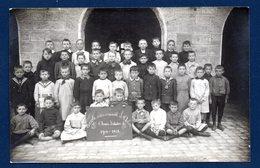 Arlon. Carte-photo. Ecole Communale De Garçons. 4ème Année D'études B. 1910-1911. Photo E. Gavroy , Habay La Neuve - Arlon