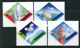 Vanuatu 2000 Expo 2000 World Stamp Exhibition - Satellite Communications Set MNH (SG 829-832) - Vanuatu (1980-...)