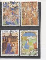 SAINT-THOMAS Et PRINCE -  Noël 1990 - Nativité - Tableaux - Religieux