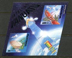 Vanuatu 2000 Expo 2000 World Stamp Exhibition - Satellite Communications MS MNH (SG MS833) - Vanuatu (1980-...)