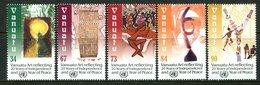 Vanuatu 2000 Expo 20th Anniversary Of Independence Set MNH (SG 834-838) - Vanuatu (1980-...)