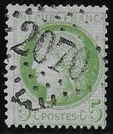 Cérès N° 53 Obl. G.C. 2070 De Lohéac ( Ille Et Vilaine ) - 1871-1875 Cérès