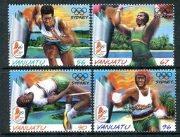 Vanuatu 2000 Olympic Games, Sydney Set MNH (SG 839-842) - Vanuatu (1980-...)