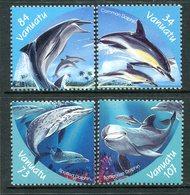 Vanuatu 2000 Dolphins Set MNH (SG 843-846) - Vanuatu (1980-...)