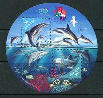 Vanuatu 2000 Dolphins MS MNH (SG MS847) - Vanuatu (1980-...)