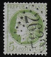 Cérès N° 53 Obl. G.C. 2632 De Neuilly En Thelle ( Oise ) - 1871-1875 Cérès