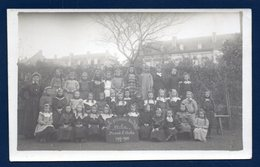 Arlon. Carte-photo. Ecole Primaire Des Filles.  3ème Année D'études.  1907-1908. Photo E. Gavroy , Habay La Neuve - Arlon