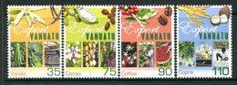 Vanuatu 2000 Food Exports Set MNH (SG 853-856) - Vanuatu (1980-...)