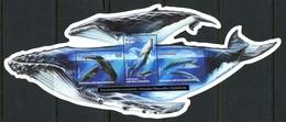 Vanuatu 2001 Whales MS MNH (SG MS860) - Vanuatu (1980-...)