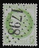 Cérès N° 53 Obl. G.C. 1798 De Hesdin ( Pas De Clais ) - 1871-1875 Cérès