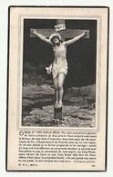 Décès Hubertine COCHEZ épouse Alphonse Bombois Petit-Enghien 1873 - 1948 - Images Religieuses