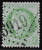 Cérès N° 53 Obl. G.C. 3919 De Ternier ( Aisne ) - 1871-1875 Cérès