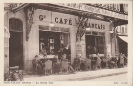 Pontarlier : Le Grand Café. (TB Plan.) - Pontarlier